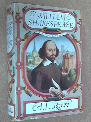 9781111036102: William Shakespeare a Biography