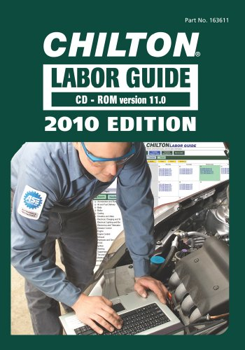 9781111036119: Chilton Labor Guide, 2010 Edition: CD-ROM (Chilton Labor Guides)
