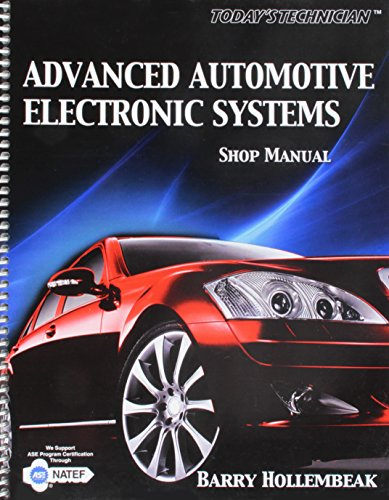 Shop Manual for Advanced Automotive Electronic Systems: Hollembeak, Barry
