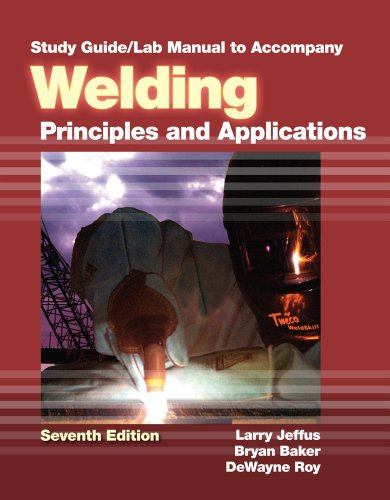Study Guide with Lab Manual for Jeffus': Jeffus, Larry