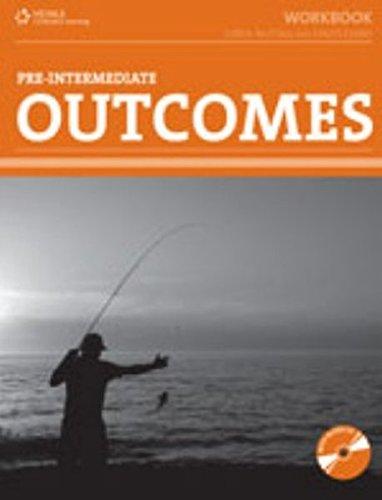 9781111054113: Outcomes Pre-Intermediate Workbook