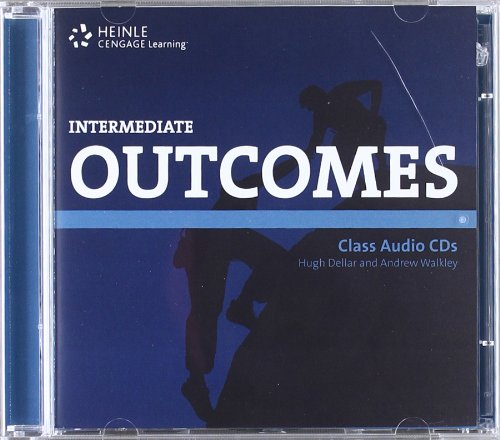 9781111054908: Outcomes (1st ed) - Intermediate - Class Audio CDs