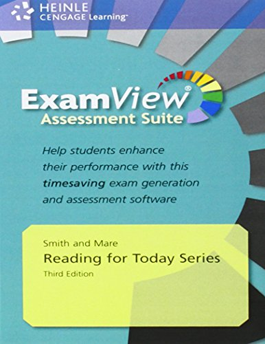9781111056636: Reading for Today Series ExamView Assessment Suite, Third Edition