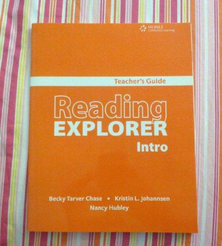 Reading Explorer Intro (Teacher's Guide): Nancy Hubley, Kristin L. Johansen, Becky Tarver ...