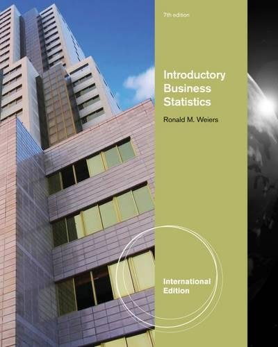 9781111058852: Introductory Business Statistics, International Edition (with Bind In Printed Access Card)