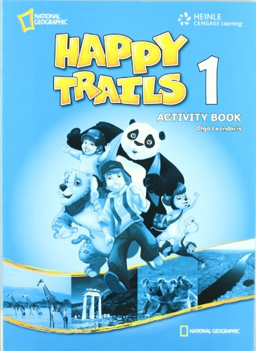 9781111062323: Happy Trail's 1 Activity Book: Discover, Experience, Learn