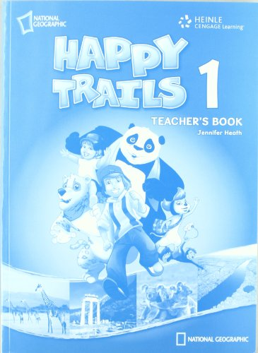 HAPPY TRAILS 1 TEACHERS BOOK - JENNIFER HEATH (author)