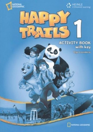 9781111062514: Happy Trails 1: Activity Book with Answer Key