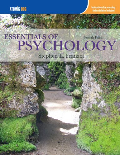 9781111064945: Essentials of Psychology (with Making the Grade Printed Access Card)
