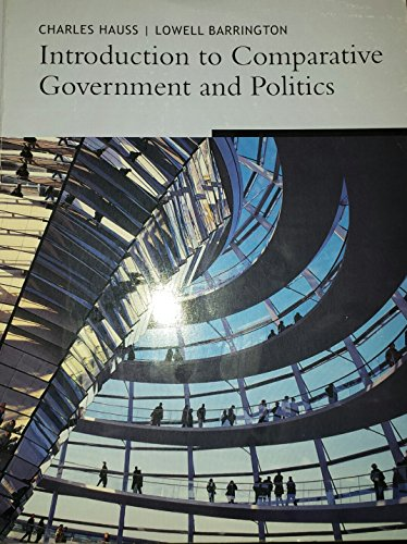 9781111066659: Introduction to Comparative Government and Politics