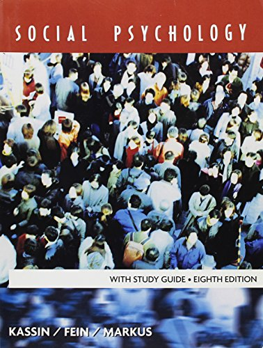 9781111066758: Social Psychology with Study Guide
