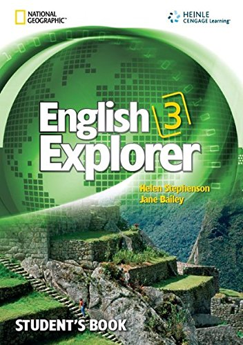 9781111067984: English Explorer 3 with MultiROM
