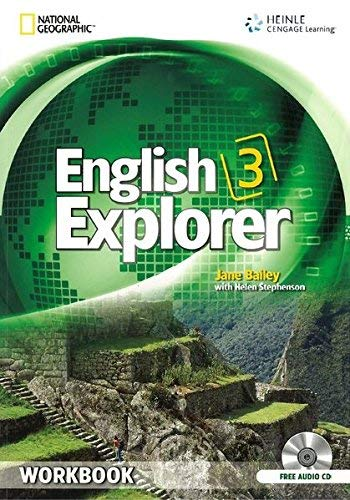 9781111071172: English Explorer 3: Workbook with Audio CD
