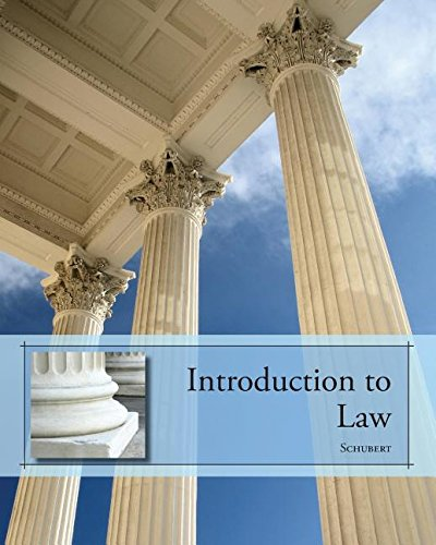 9781111072667: Introduction to Law (custom Text)