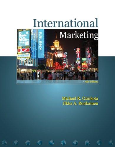 Bundle: International Marketing (with InfoTrac), 9th + WebTutor(TM) ToolBox on Blackboard Printed ...