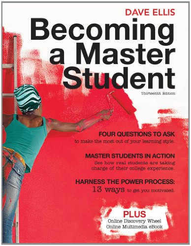 9781111083083: Becoming a Master Student [With Access Code]