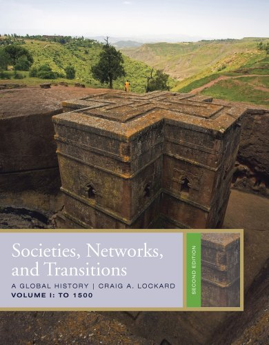 9781111085872: Bundle: Societies, Networks, and Transitions, Volume 1: To 1500, 2nd + WebTutor™ on WebCT™ Printed Access Card