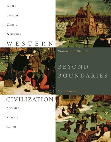 9781111115692: Bundle: Western Civilization: Beyond Boundaries, Volume B: 1300-1815, 6th + Resource Center, InfoTrac Printed Access Card
