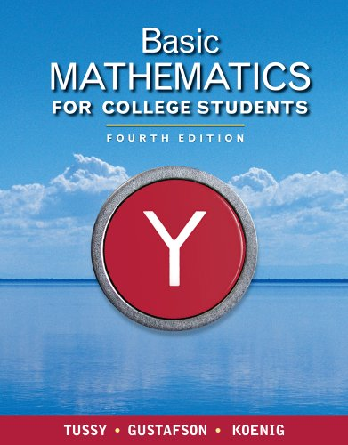 9781111116682: Bundle: Basic Mathematics for College Students, 4th + WebAssign Printed Access Card for Tussy/Gustafson/Koenig's Basic Mathematics for College Students, 4th Edition, Single-Term