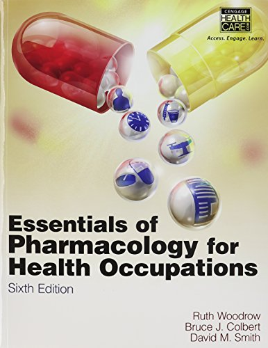 9781111120825: Essentials of Pharmacology for Health Occupations