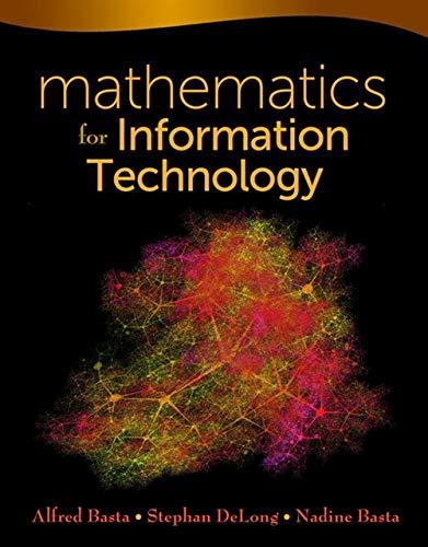 Mathematics for Information Technology: Basta, Alfred, DeLong,