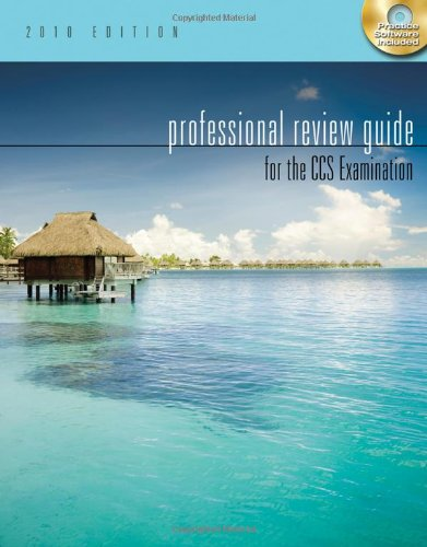 9781111127961: Professional Review Guide for the CCS Examination, 2010 Edition (Test Preparation)