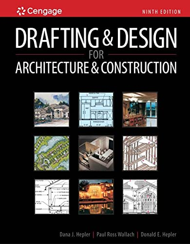 9781111128135: Drafting and Design for Architecture & Construction