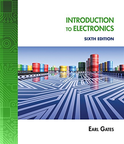 Introduction to Electronics 9781111128531 INTRODUCTION TO ELECTRONICS, SIXTH EDITION provides readers with a broad overview of both the linear and digital fields of electronics while also providing the basics so they can understand the fundamentals of electronics. This book is intended for first year students or users to stimulate their interest in electronics, whether they are in high school, college or the field, and will provide them with a fundamental background in electronics that they need to succeed in today's increasingly digital world. The sixth edition continues to expose readers to the broad field of electronics at a level that they can easily understand. Chapters are brief and focused and frequent examples are used to show math and formulas in use. Each chapter builds on the previous chapter to allow readers to grow with the knowledge necessary to continue. There are many new problems and review questions and Internet applications that enhance readers' learning and retention of the material. In addition, new photographs keep them up to date with changes in the field of electronics and a new topic on Programmable Interface Controllers (PICs) is included as well. INTRODUCTION TO ELECTRONICS, SIXTH EDITION is written to allow readers to understand the fundamentals of electronics.