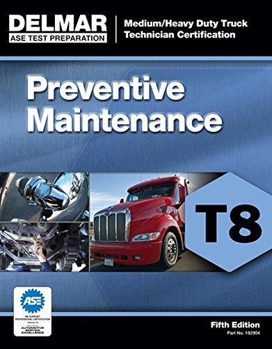 9781111129040: ASE Test Prep- T8 Preventive Maintenance (Delmar Learning's Test Preparation)