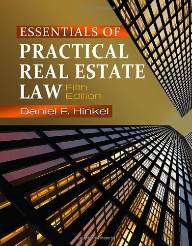 9781111136932: Essentials of Practical Real Estate Law