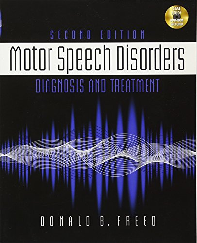 9781111138271: Motor Speech Disorders: Diagnosis & Treatment