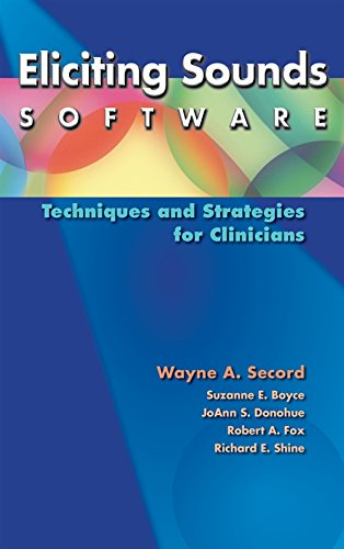 9781111138622: Eliciting Sounds Software: Techniques and Strategies for Clinicians