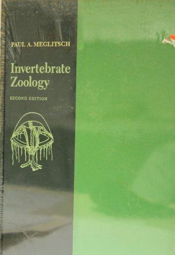 9781111139292: Invertebrate Zoology 2ND Edition [Gebundene Ausgabe] by Meglitsch, Paul A