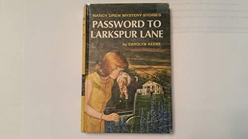 9781111145828: Nancy Drew 010 Password To Larkspur Lane