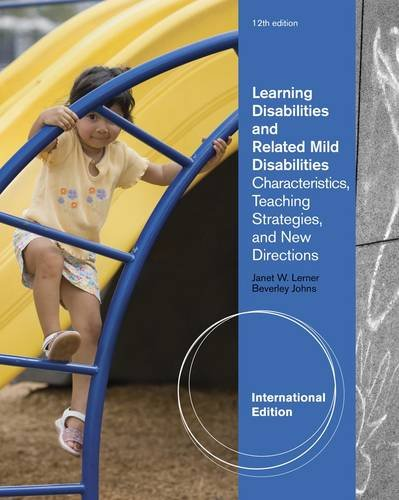 9781111185701: Learning Disabilities and Related Mild Disabilities: Characteristics, Teaching Strategies, and New Directions (International Edition)