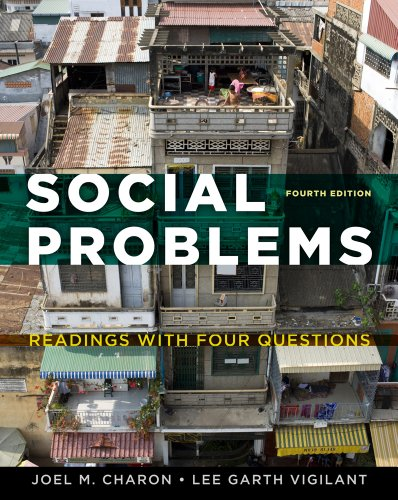 9781111185954: Social Problems: Readings with Four Questions