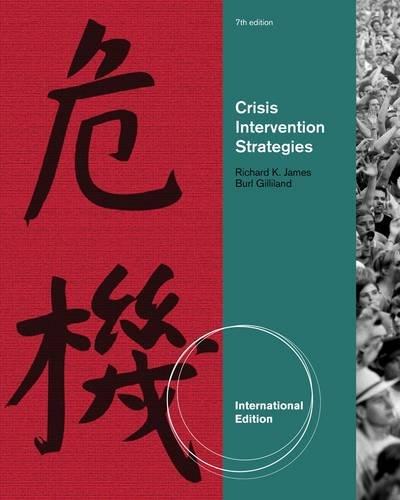 9781111186784: Crisis Intervention Strategies