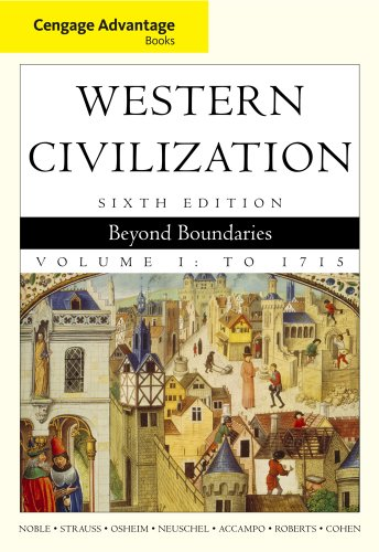 9781111188733: Bundle: Cengage Advantage Books: Western Civilization: Beyond Boundaries, Volume I, 6th + Resource Center, InfoTrac Printed Access Card