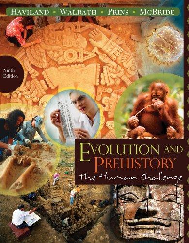 9781111188856: Bundle: Evolution and Prehistory: The Human Challenge, 9th + WebTutor™ ToolBox for Blackboard Printed Access Card