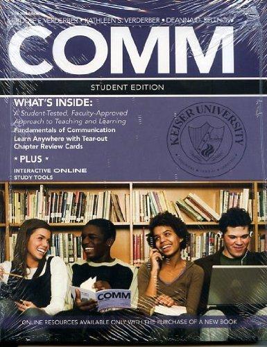 9781111200718: Comm Student Edition with Speech Studio