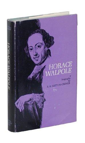 9781111201579: Horace Walpole; a biography,