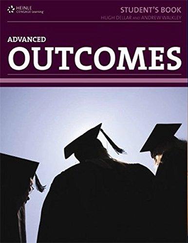 9781111211752: Outcomes. Advanced Level. Student's Book