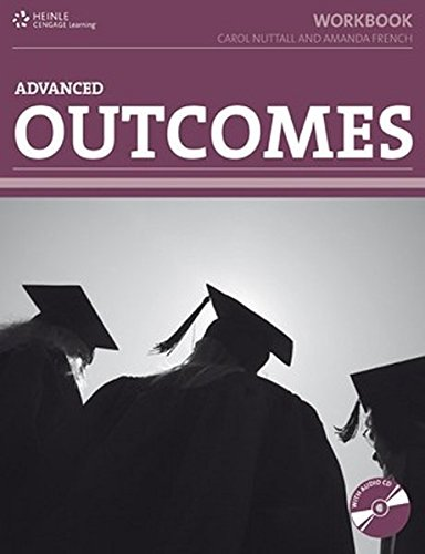 9781111212339: Outcomes. Advanced Level. Worbook (Book + CD)