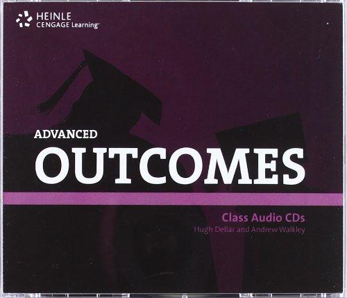9781111212384: Outcomes (1st ed) - Advanced - Class Audio CDs