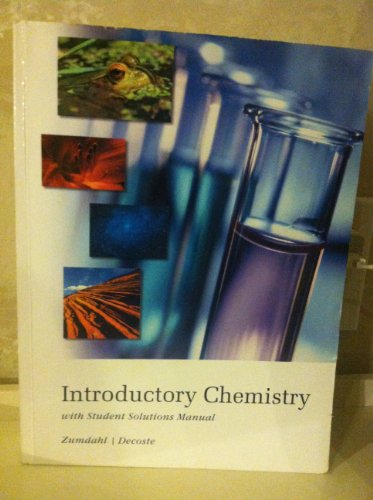 9781111212582: Introductory Chemistry