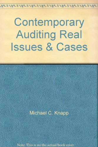 9781111215866: Contemporary Auditing Real Issues & Cases
