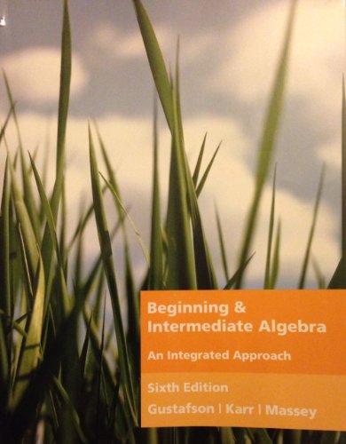 9781111216078: BEGINNING+INTERMEDIATE ALGEBRA