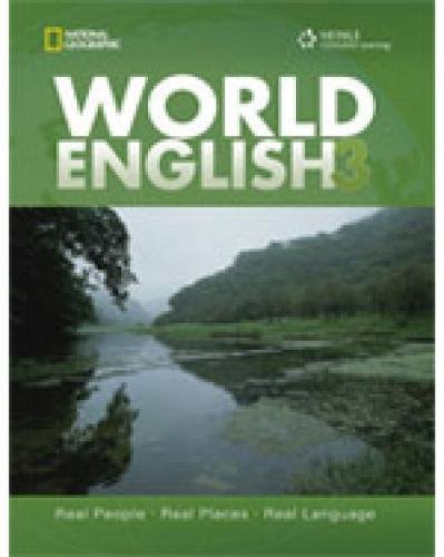 9781111217259: World English 3 with CDROM: Middle East Edition (World English: Real People, Real Places, Real Language)