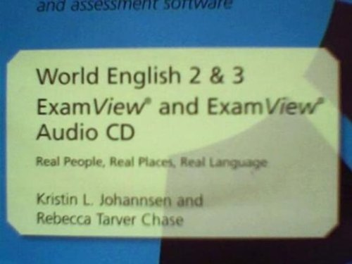 9781111218942: World English Exam View Intro & L1 Cdrom