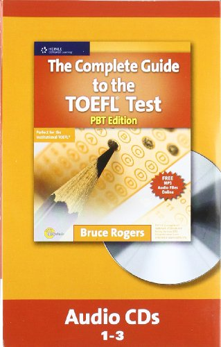 9781111220600: The Complete Guide to the TOEFL Test, PBT: Audio CD